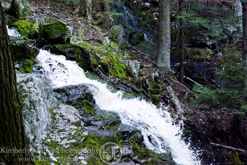 Spirit Cascade, Royalston MA. ©2012 Kimberly J Tilley.