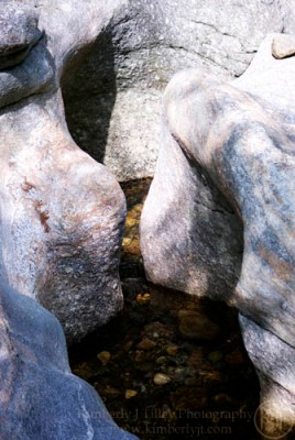 Sculptured Rocks in Groton NH. Photograph ©2012 Kimberly J Tilley