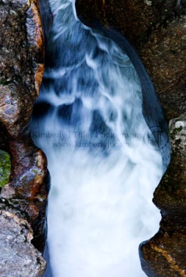 Sculpted Rocks by Cockermouth River Photograph ©2012 Kimberly J Tilley