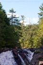 waterfall, summer, trees, landscape, new hamsphire, Kimberly J Tilley
