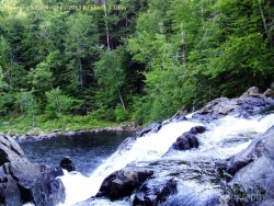waterfall, rocks, stone, glaciers, landscape, summer, trees, new hampshire, Kimberly J Tilley